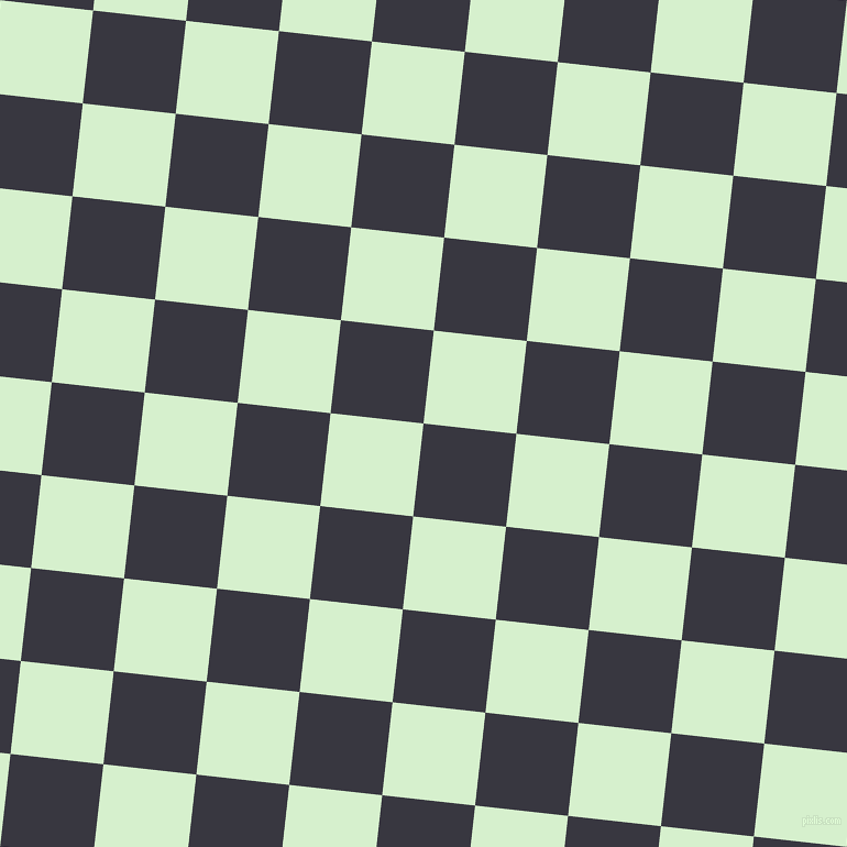 84/174 degree angle diagonal checkered chequered squares checker pattern checkers background, 85 pixel square size, , Black Marlin and Snowy Mint checkers chequered checkered squares seamless tileable