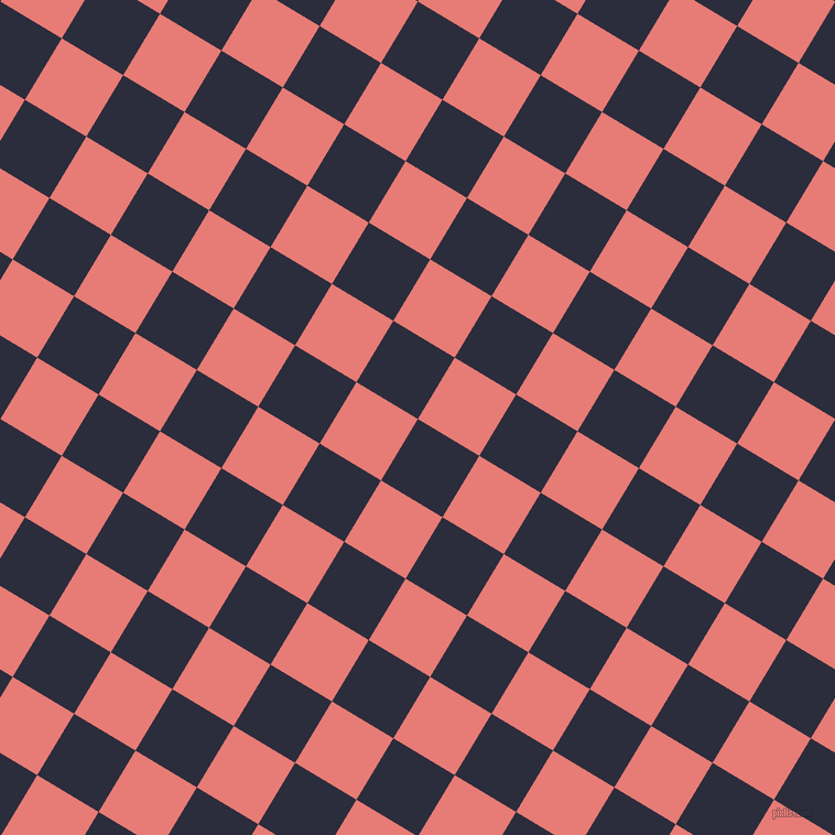 59/149 degree angle diagonal checkered chequered squares checker pattern checkers background, 65 pixel square size, , Black Rock and Geraldine checkers chequered checkered squares seamless tileable