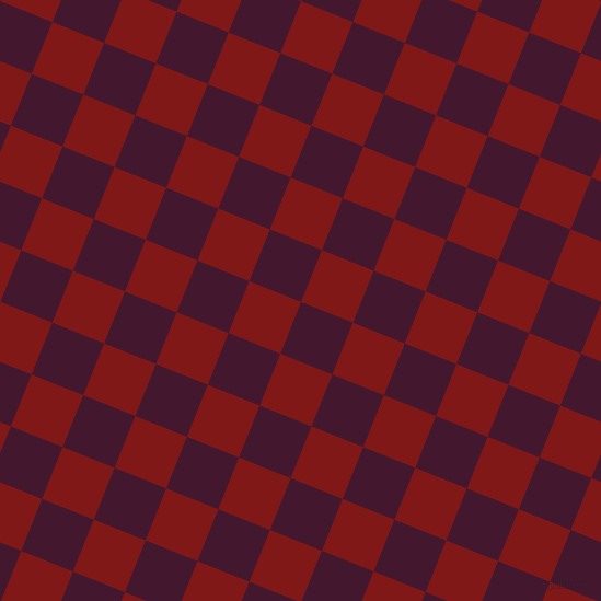 68/158 degree angle diagonal checkered chequered squares checker pattern checkers background, 51 pixel squares size, , Blackberry and Falu Red checkers chequered checkered squares seamless tileable