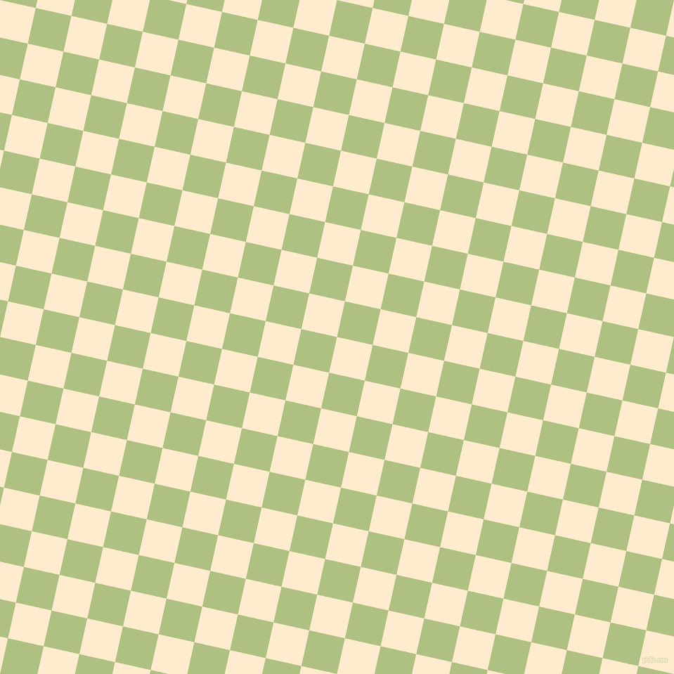 77/167 degree angle diagonal checkered chequered squares checker pattern checkers background, 52 pixel squares size, , Blanched Almond and Caper checkers chequered checkered squares seamless tileable