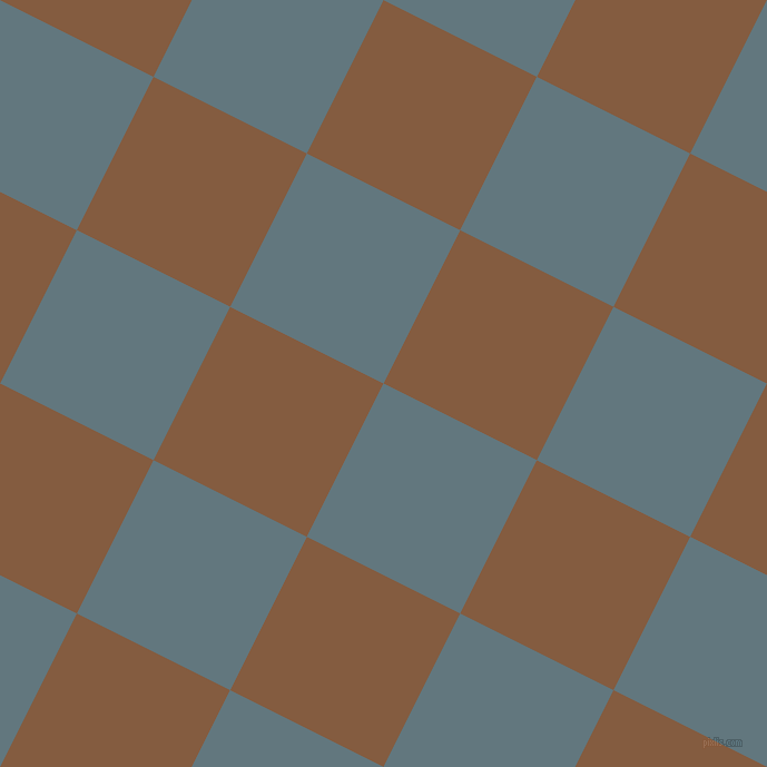 63/153 degree angle diagonal checkered chequered squares checker pattern checkers background, 154 pixel square size, , Blue Bayoux and Potters Clay checkers chequered checkered squares seamless tileable