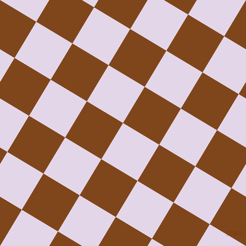59/149 degree angle diagonal checkered chequered squares checker pattern checkers background, 85 pixel square size, , Blue Chalk and Russet checkers chequered checkered squares seamless tileable