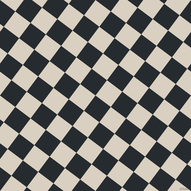 53/143 degree angle diagonal checkered chequered squares checker pattern checkers background, 78 pixel squares size, , Blue Charcoal and Blanc checkers chequered checkered squares seamless tileable
