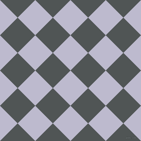 45/135 degree angle diagonal checkered chequered squares checker pattern checkers background, 85 pixel squares size, , Blue Haze and Mako checkers chequered checkered squares seamless tileable