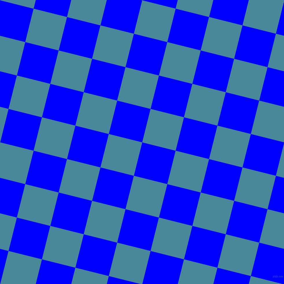 76/166 degree angle diagonal checkered chequered squares checker pattern checkers background, 119 pixel square size, , Blue and Hippie Blue checkers chequered checkered squares seamless tileable