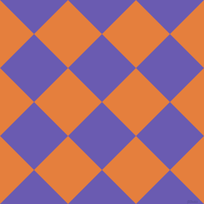 45/135 degree angle diagonal checkered chequered squares checker pattern checkers background, 163 pixel squares size, , Blue Marguerite and Pizazz checkers chequered checkered squares seamless tileable