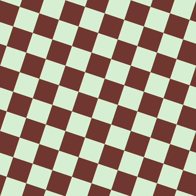 72/162 degree angle diagonal checkered chequered squares checker pattern checkers background, 83 pixel squares size, , Blue Romance and Mocha checkers chequered checkered squares seamless tileable