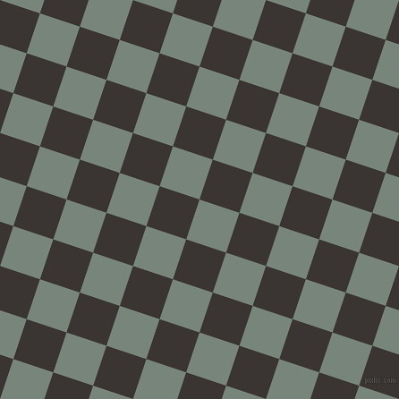 72/162 degree angle diagonal checkered chequered squares checker pattern checkers background, 47 pixel square size, , Blue Smoke and Kilamanjaro checkers chequered checkered squares seamless tileable