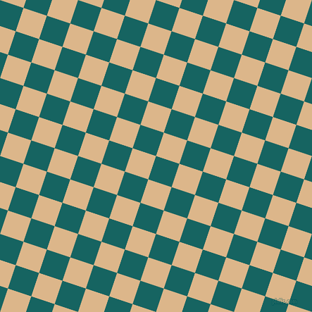 72/162 degree angle diagonal checkered chequered squares checker pattern checkers background, 35 pixel squares size, , Blue Stone and Brandy checkers chequered checkered squares seamless tileable