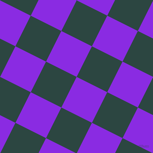 63/153 degree angle diagonal checkered chequered squares checker pattern checkers background, 117 pixel square size, , Blue Violet and Gable Green checkers chequered checkered squares seamless tileable
