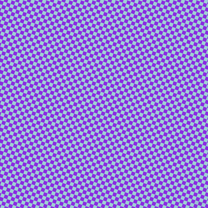 72/162 degree angle diagonal checkered chequered squares checker pattern checkers background, 12 pixel square size, , Blue Violet and Morning Glory checkers chequered checkered squares seamless tileable