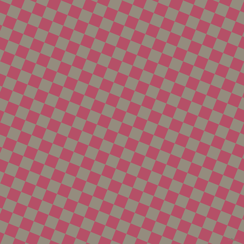 68/158 degree angle diagonal checkered chequered squares checker pattern checkers background, 37 pixel square size, , Blush and Heathered Grey checkers chequered checkered squares seamless tileable