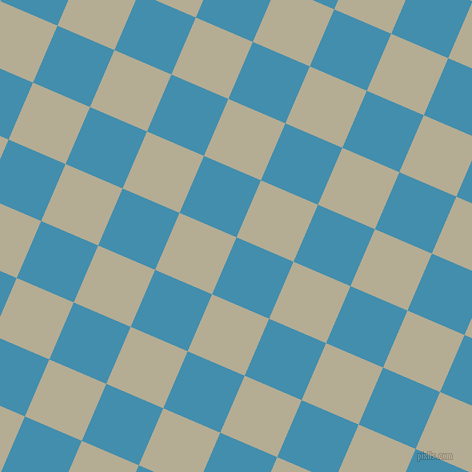67/157 degree angle diagonal checkered chequered squares checker pattern checkers background, 62 pixel square size, , Boston Blue and Bison Hide checkers chequered checkered squares seamless tileable