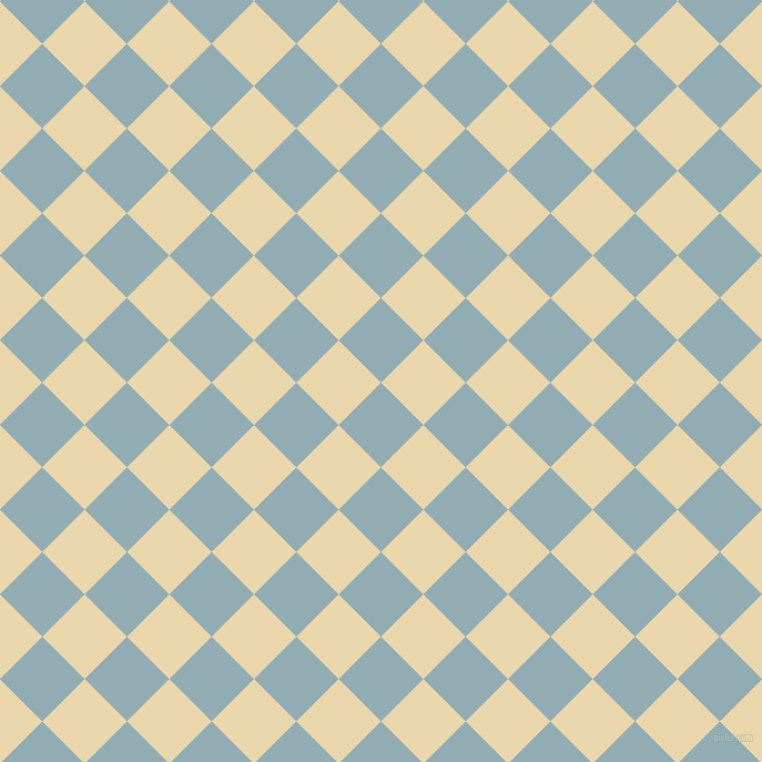 45/135 degree angle diagonal checkered chequered squares checker pattern checkers background, 54 pixel square size, , Botticelli and Beeswax checkers chequered checkered squares seamless tileable