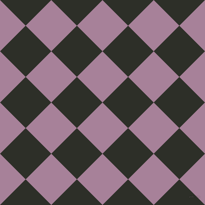 45/135 degree angle diagonal checkered chequered squares checker pattern checkers background, 118 pixel squares size, , Bouquet and Eternity checkers chequered checkered squares seamless tileable
