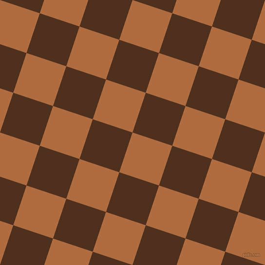 72/162 degree angle diagonal checkered chequered squares checker pattern checkers background, 86 pixel squares size, , Bourbon and Indian Tan checkers chequered checkered squares seamless tileable