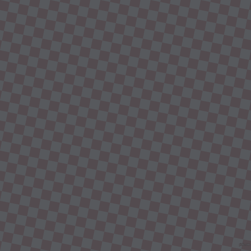 79/169 degree angle diagonal checkered chequered squares checker pattern checkers background, 32 pixel square size, Bright Grey and Liver checkers chequered checkered squares seamless tileable
