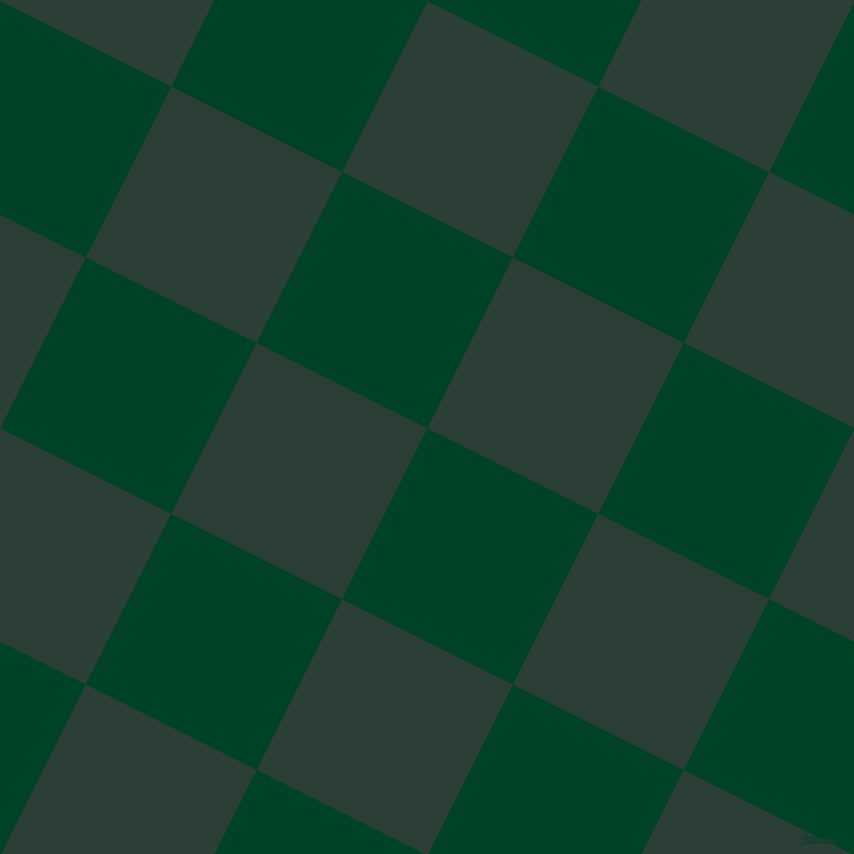 63/153 degree angle diagonal checkered chequered squares checker pattern checkers background, 191 pixel square size, , British Racing Green and Celtic checkers chequered checkered squares seamless tileable