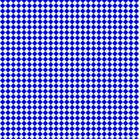 45/135 degree angle diagonal checkered chequered squares checker pattern checkers background, 13 pixel squares size, , Bubbles and Medium Blue checkers chequered checkered squares seamless tileable