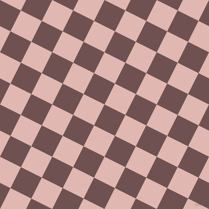 63/153 degree angle diagonal checkered chequered squares checker pattern checkers background, 92 pixel squares size, , Buccaneer and Cavern Pink checkers chequered checkered squares seamless tileable