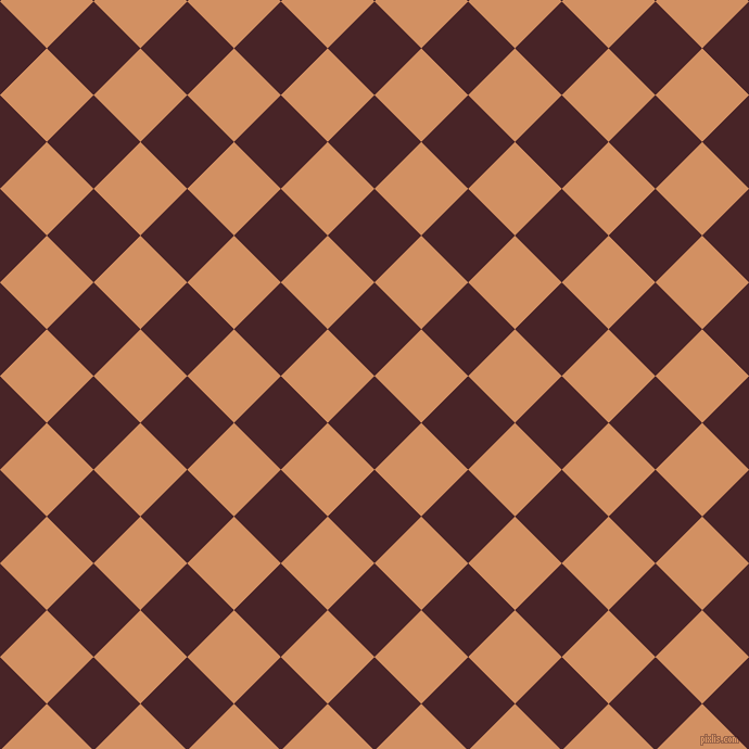 45/135 degree angle diagonal checkered chequered squares checker pattern checkers background, 61 pixel squares size, , Bulgarian Rose and Whiskey checkers chequered checkered squares seamless tileable