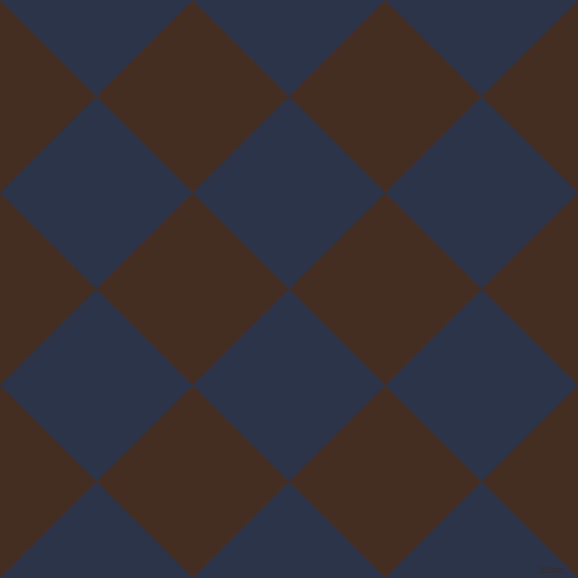 45/135 degree angle diagonal checkered chequered squares checker pattern checkers background, 196 pixel squares size, , Bunting and Morocco Brown checkers chequered checkered squares seamless tileable