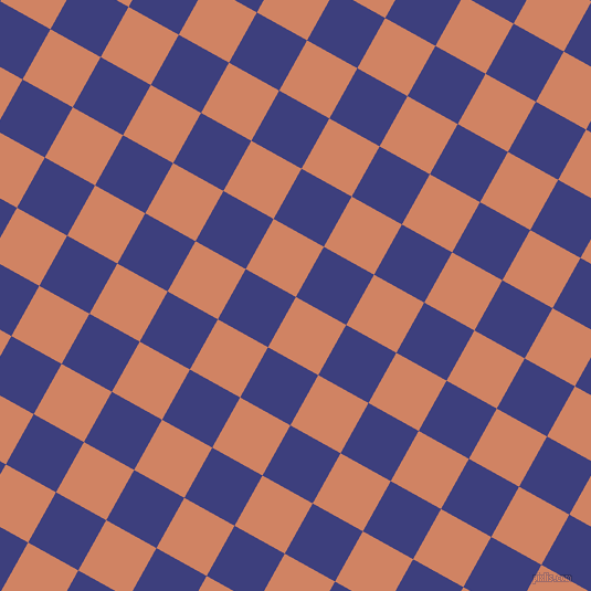 61/151 degree angle diagonal checkered chequered squares checker pattern checkers background, 52 pixel square size, , Burning Sand and Jacksons Purple checkers chequered checkered squares seamless tileable