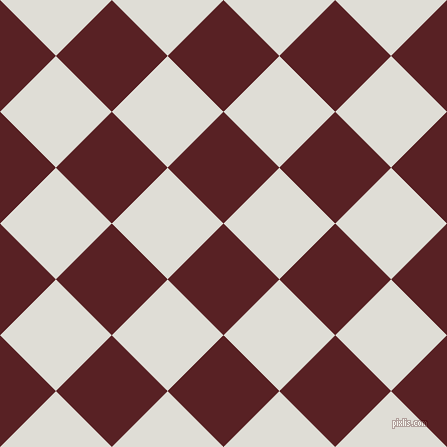 45/135 degree angle diagonal checkered chequered squares checker pattern checkers background, 79 pixel squares size, , Burnt Crimson and Sea Fog checkers chequered checkered squares seamless tileable