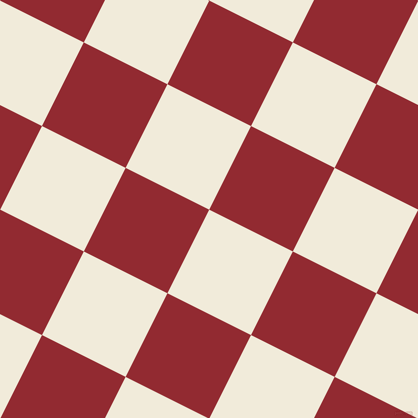 63/153 degree angle diagonal checkered chequered squares checker pattern checkers background, 189 pixel square size, , Buttery White and Bright Red checkers chequered checkered squares seamless tileable