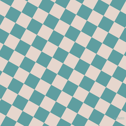 61/151 degree angle diagonal checkered chequered squares checker pattern checkers background, 42 pixel square size, , Cadet Blue and Dawn Pink checkers chequered checkered squares seamless tileable