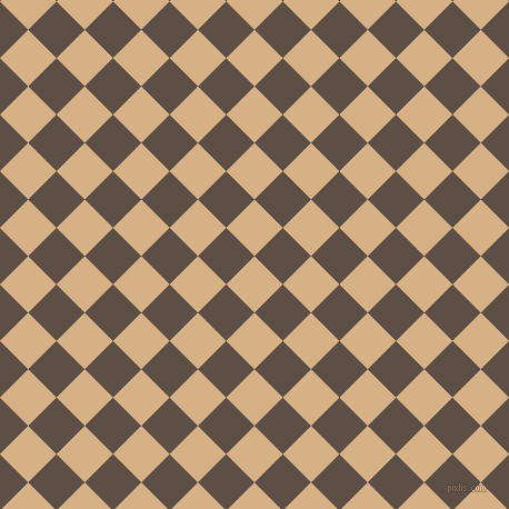 45/135 degree angle diagonal checkered chequered squares checker pattern checkers background, 36 pixel square size, , Calico and Saddle checkers chequered checkered squares seamless tileable