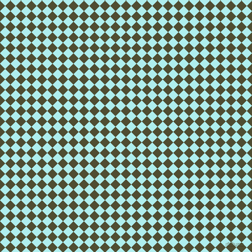 45/135 degree angle diagonal checkered chequered squares checker pattern checkers background, 15 pixel square size, , Camouflage and Pale Turquoise checkers chequered checkered squares seamless tileable
