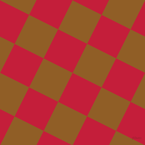63/153 degree angle diagonal checkered chequered squares checker pattern checkers background, 125 pixel square size, , Cardinal and Afghan Tan checkers chequered checkered squares seamless tileable