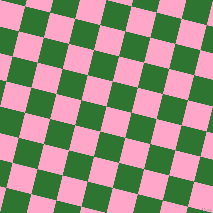 76/166 degree angle diagonal checkered chequered squares checker pattern checkers background, 88 pixel square size, , Carnation Pink and Japanese Laurel checkers chequered checkered squares seamless tileable