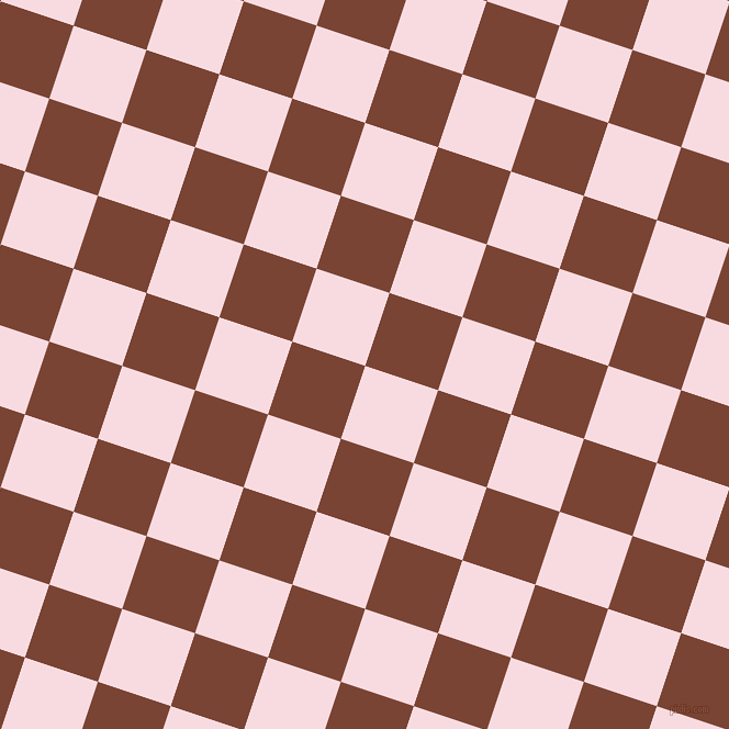 72/162 degree angle diagonal checkered chequered squares checker pattern checkers background, 70 pixel square size, , Carousel Pink and Peanut checkers chequered checkered squares seamless tileable