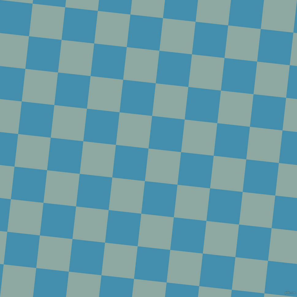 84/174 degree angle diagonal checkered chequered squares checker pattern checkers background, 107 pixel square size, , Cascade and Boston Blue checkers chequered checkered squares seamless tileable
