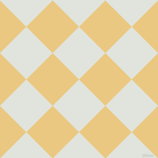 45/135 degree angle diagonal checkered chequered squares checker pattern checkers background, 121 pixel squares size, , Catskill White and Marzipan checkers chequered checkered squares seamless tileable