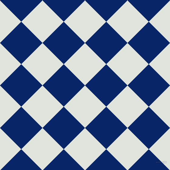 45/135 degree angle diagonal checkered chequered squares checker pattern checkers background, 99 pixel square size, , Catskill White and Sapphire checkers chequered checkered squares seamless tileable