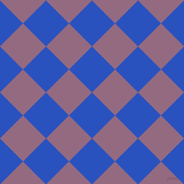 45/135 degree angle diagonal checkered chequered squares checker pattern checkers background, 107 pixel square size, , Cerulean Blue and Strikemaster checkers chequered checkered squares seamless tileable