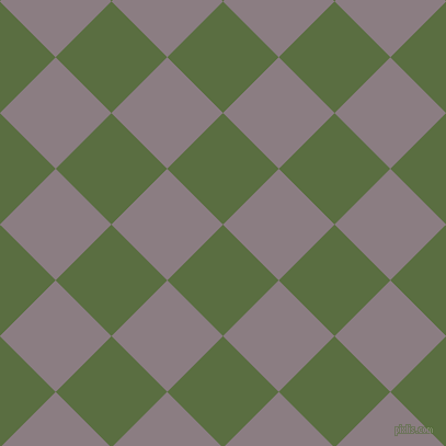 45/135 degree angle diagonal checkered chequered squares checker pattern checkers background, 72 pixel squares size, , Chalet Green and Venus checkers chequered checkered squares seamless tileable