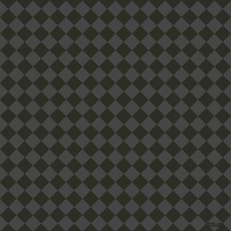 45/135 degree angle diagonal checkered chequered squares checker pattern checkers background, 24 pixel square size, , Charcoal and Green Waterloo checkers chequered checkered squares seamless tileable