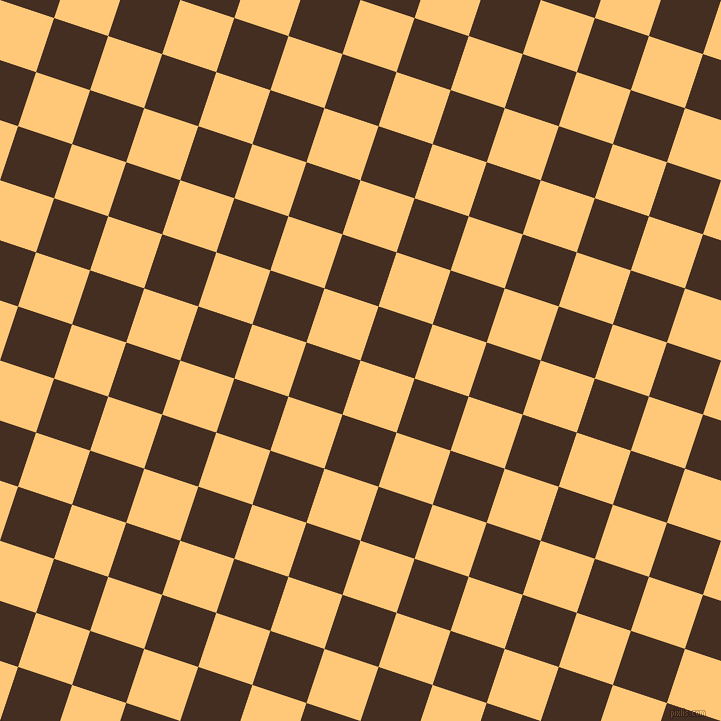 72/162 degree angle diagonal checkered chequered squares checker pattern checkers background, 57 pixel squares size, , Chardonnay and Morocco Brown checkers chequered checkered squares seamless tileable