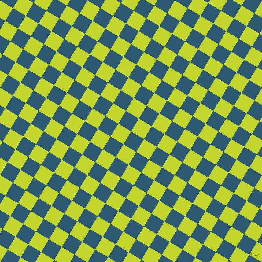 59/149 degree angle diagonal checkered chequered squares checker pattern checkers background, 49 pixel square size, , Chathams Blue and Fuego checkers chequered checkered squares seamless tileable