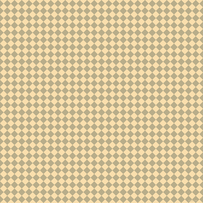 45/135 degree angle diagonal checkered chequered squares checker pattern checkers background, 20 pixel square size, , Chino and Peach-Yellow checkers chequered checkered squares seamless tileable