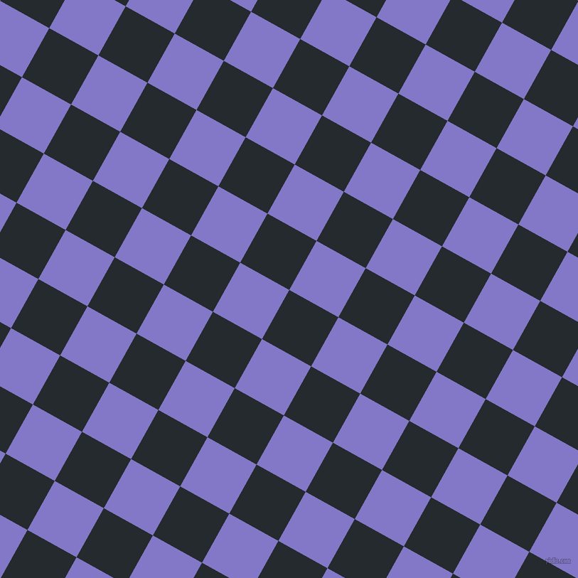 61/151 degree angle diagonal checkered chequered squares checker pattern checkers background, 79 pixel squares size, , Cinder and Moody Blue checkers chequered checkered squares seamless tileable
