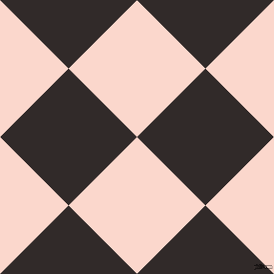 45/135 degree angle diagonal checkered chequered squares checker pattern checkers background, 189 pixel square size, , Cinderella and Livid Brown checkers chequered checkered squares seamless tileable