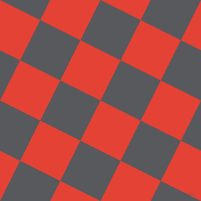 63/153 degree angle diagonal checkered chequered squares checker pattern checkers background, 146 pixel square size, , Cinnabar and Bright Grey checkers chequered checkered squares seamless tileable