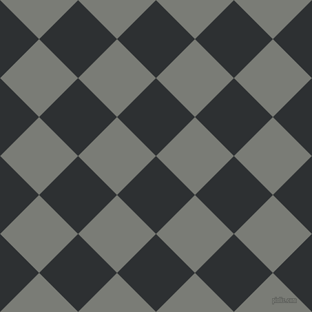 45/135 degree angle diagonal checkered chequered squares checker pattern checkers background, 80 pixel squares size, , Cod Grey and Gunsmoke checkers chequered checkered squares seamless tileable