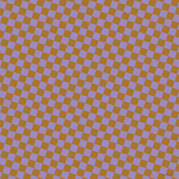 72/162 degree angle diagonal checkered chequered squares checker pattern checkers background, 24 pixel square size, , Cold Purple and Hot Toddy checkers chequered checkered squares seamless tileable
