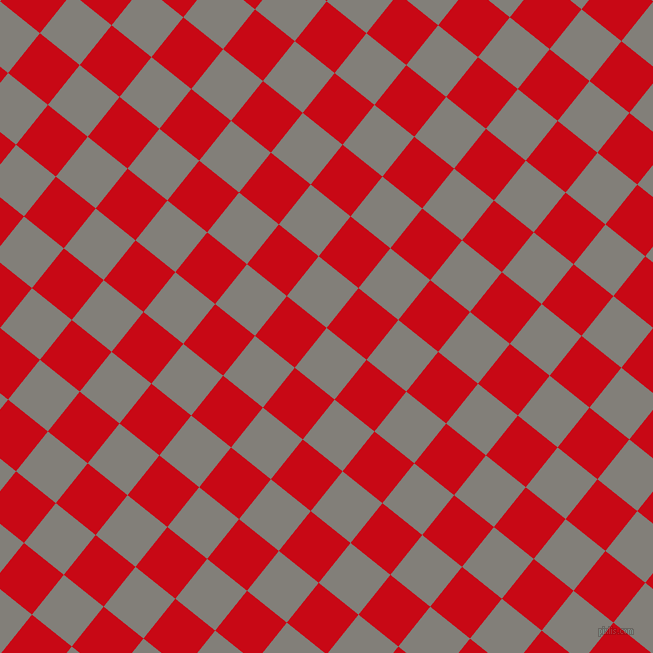51/141 degree angle diagonal checkered chequered squares checker pattern checkers background, 51 pixel squares size, , Concord and Venetian Red checkers chequered checkered squares seamless tileable